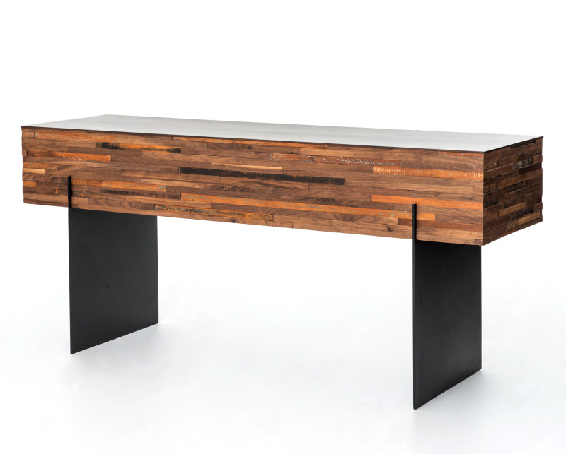 Ethan Reclaimed Wood Console Table