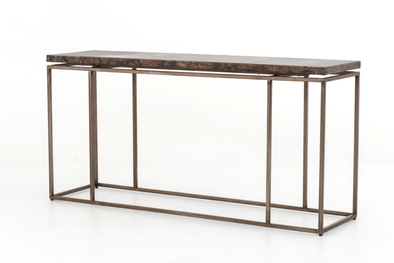 Roman Industrial Chic Console Table