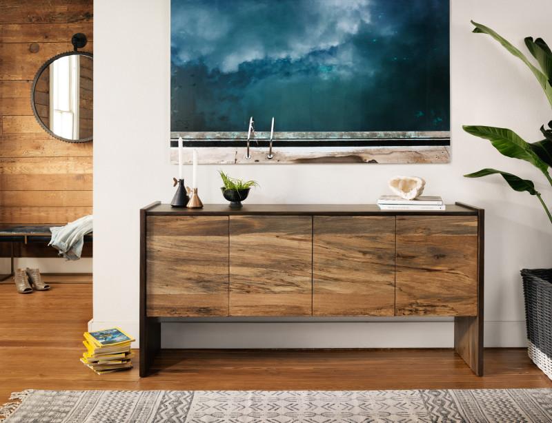 Isla Modern Wood Sideboard