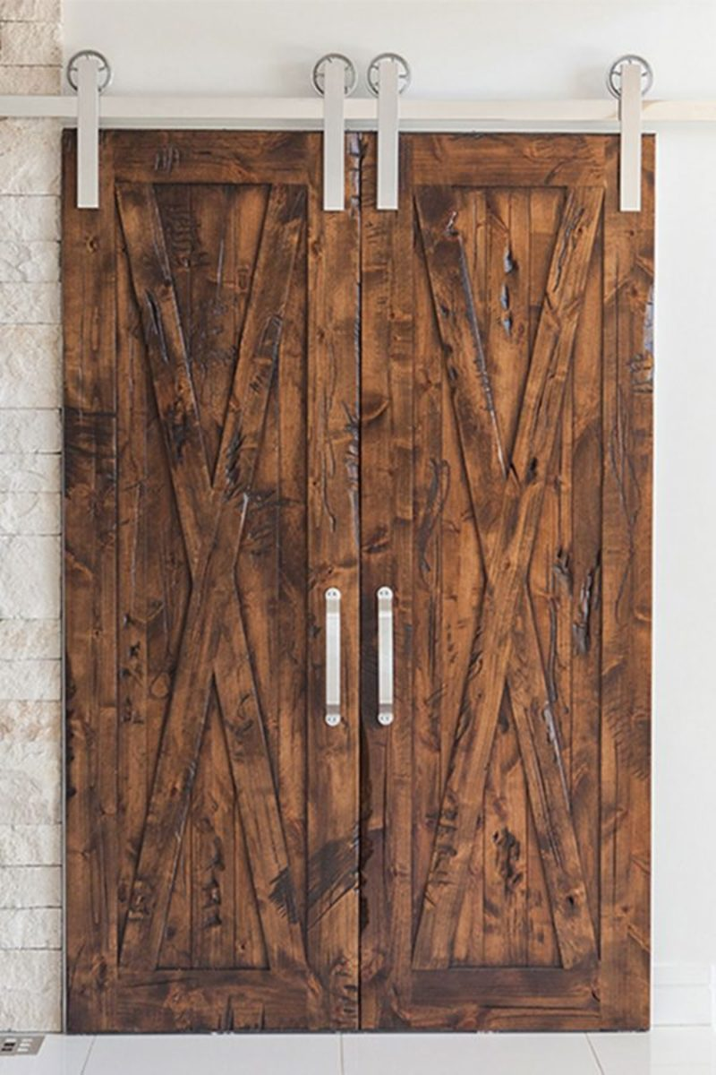 Bi Parting Barn Door Hardware