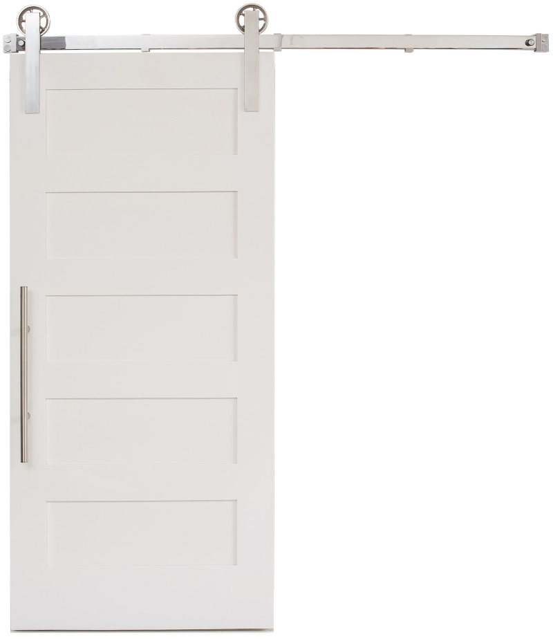 Sliding 5 Panel Barn Door Rustica Hardware