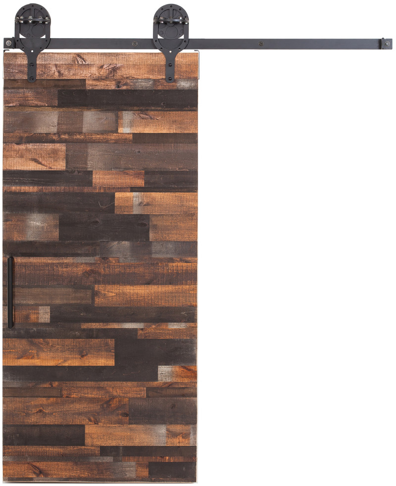 Reclaimed Wood Barn Door Reclaimed Sliding Barn Doors Rustica