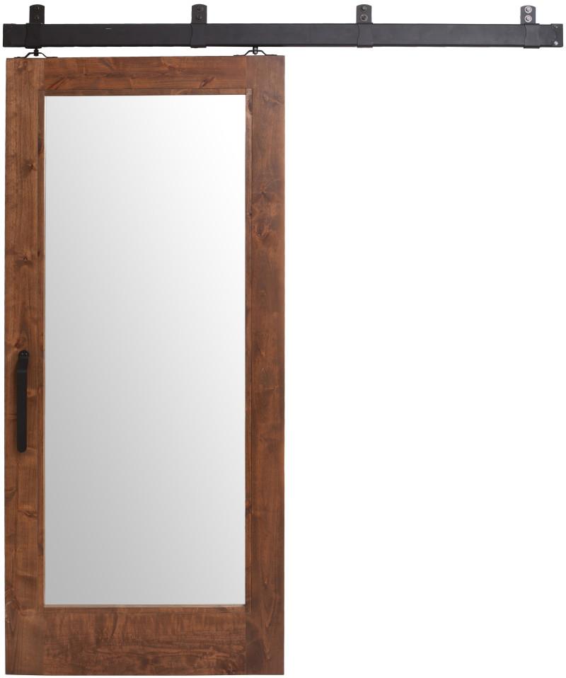 Mirrored Barn Door Sliding Barn Doors With Mirrors