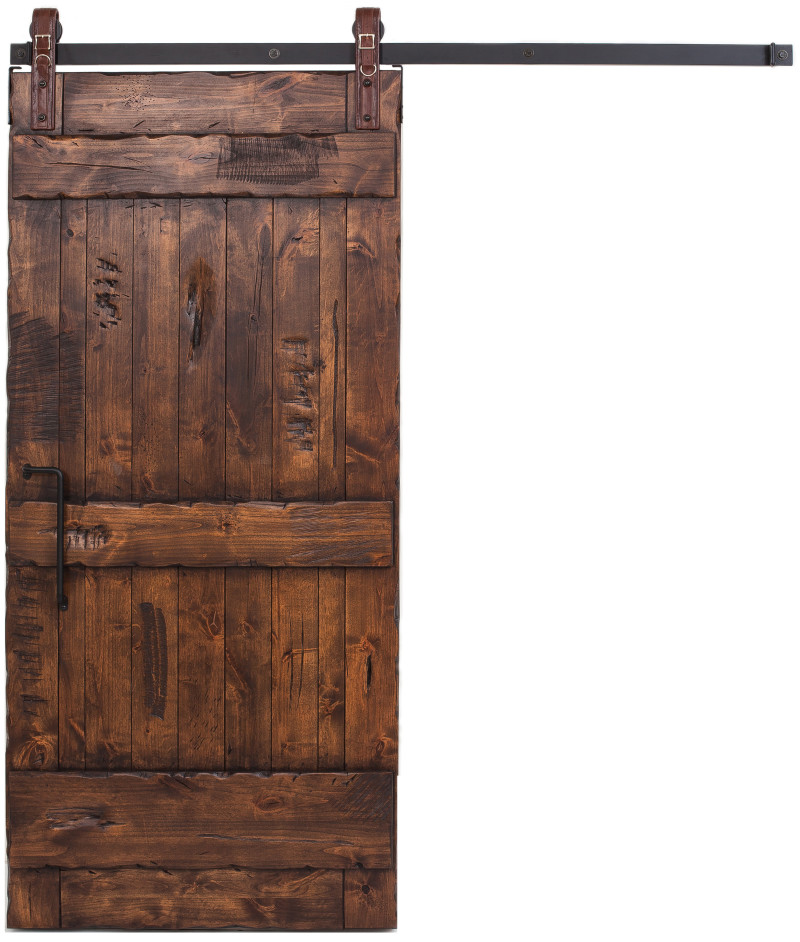 Ranch Style Interior Sliding Barn Door Rustica Hardware