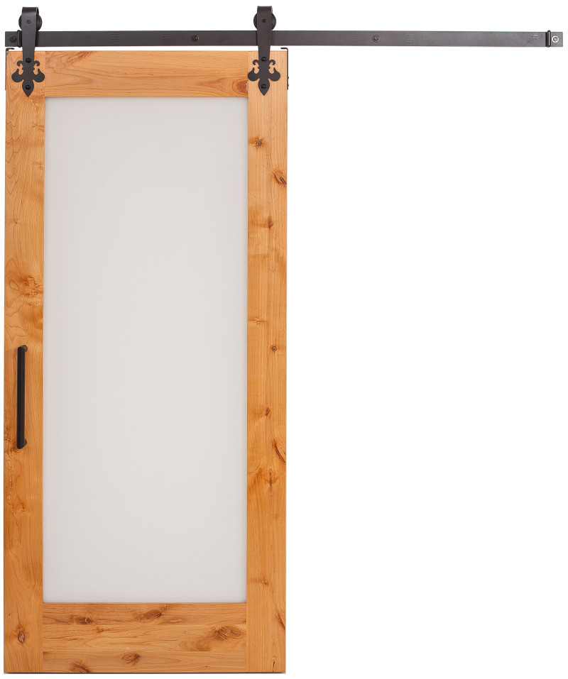 Single Lite Door: Glass U0026 Acrylic Barn Doors | Rustica Hardware | Rustica  Hardware