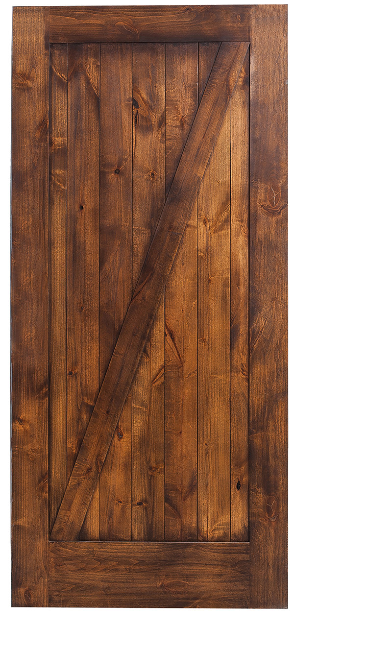 Z Style Barn Door Hinged Z Frame Barn Doors Rustica Hardware