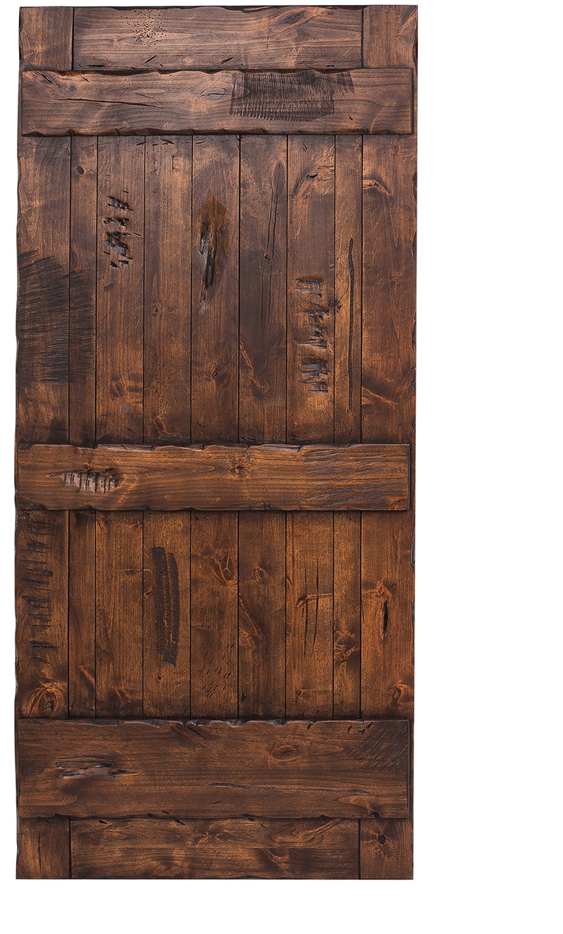 Ranch Style Barn Door Hinged Ranch Barn Doors Rustica