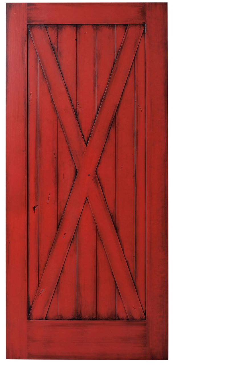 Full X Barn Door X Style Hinged Barn Doors Rustica Hardware