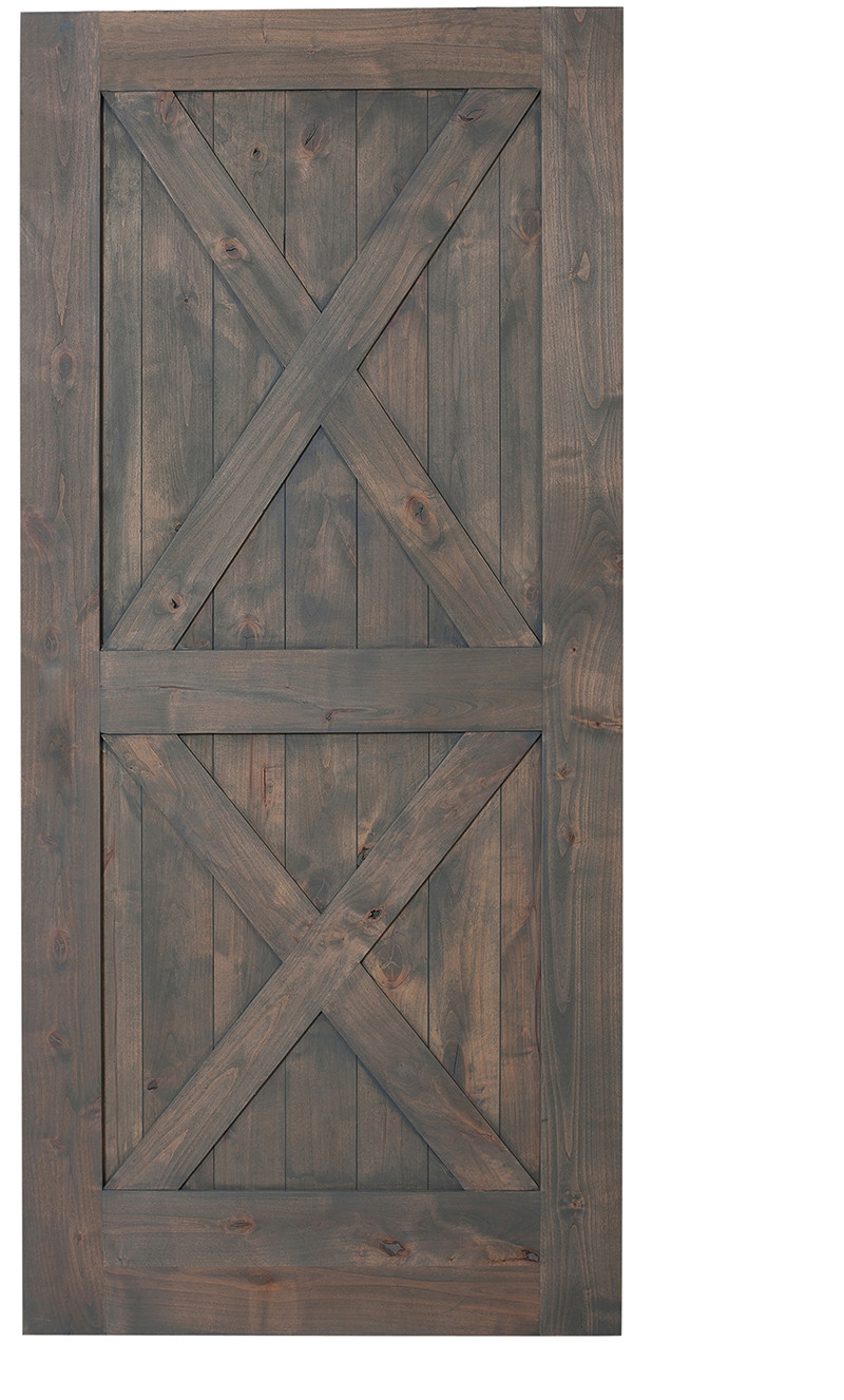 Double X Barn Door Single Hinged Barn Doors Rustica