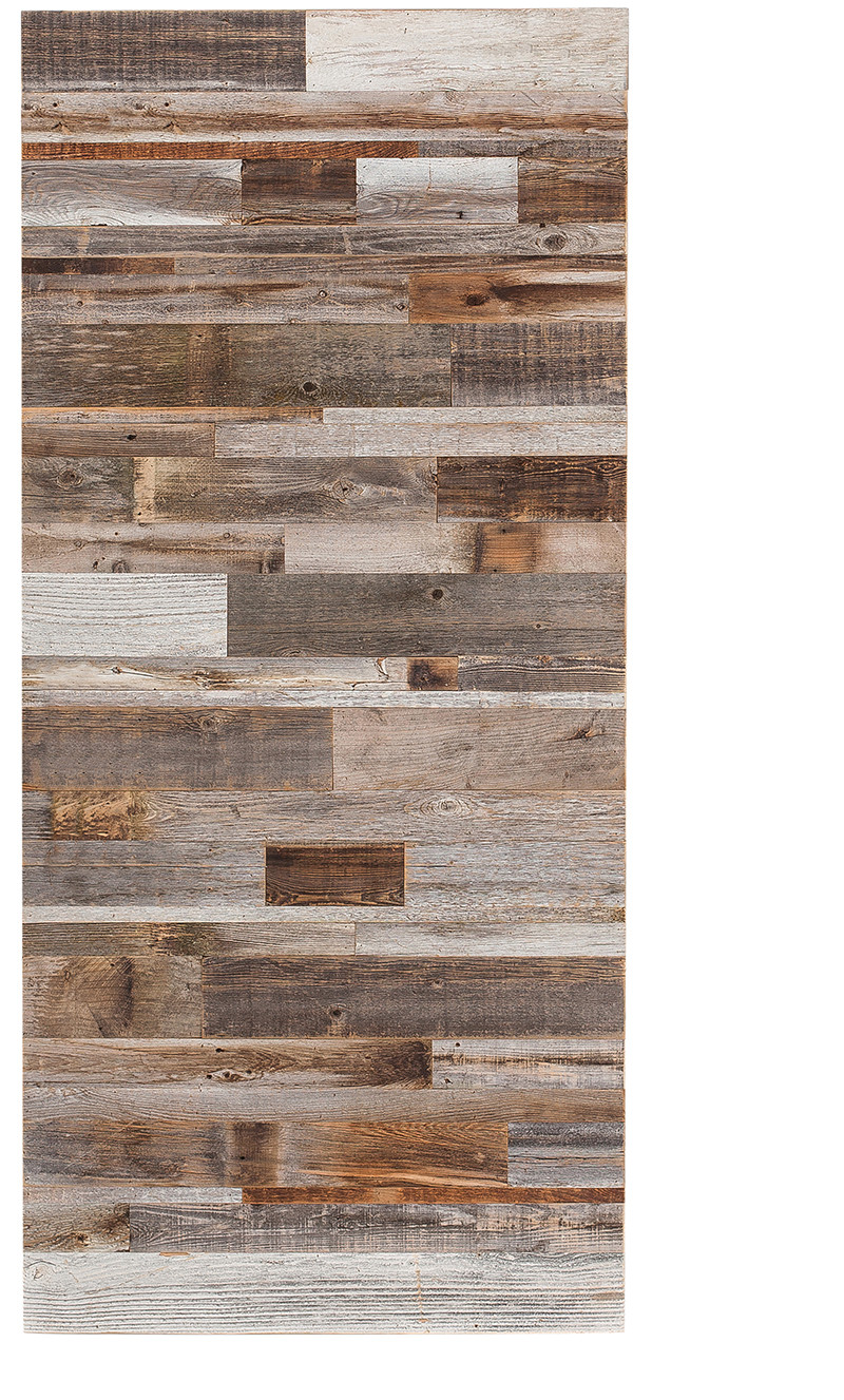 Horizontal Barn Wood Reclaimed Swinging Door