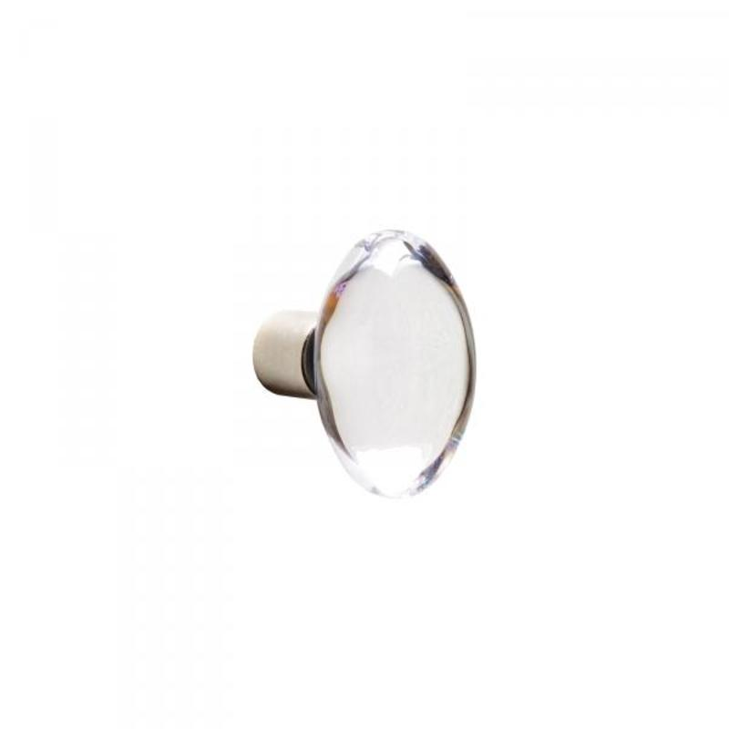 Oval Crystal – 1 in x 1 3/4 in