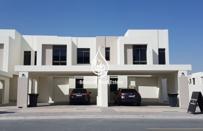 Excellent Location | Vacant 4 BR + Maid | Safi Townhouse, -