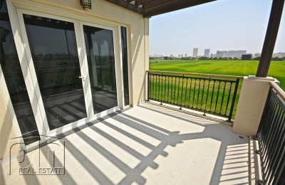 Full Polo Field View | Modern Design | Vacant -