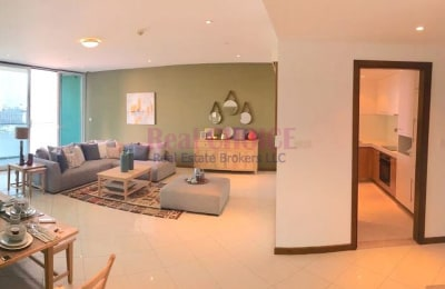Dual View|No Commission and DLD Fee|2BR Apartment -