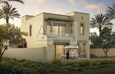 Stylish Villa by EMAAR on Special 25-75 Payment Plan -