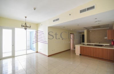 Rented Big Size 1BR Middle Floor / Balcony -