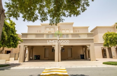 Middle Unit 3BR+Maid Traditional Villa with FREE: Maintenance -