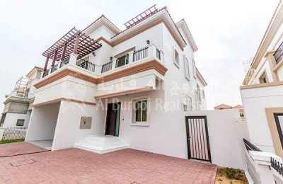 Brand New 4BR+Maids Villa With Elevator and Private Pool -