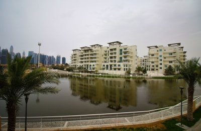 Jumeirah Island Townhouse | Single Row | Lake View -