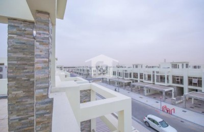 3BR Plus Maid's in Polo Townhouse | Meydan -