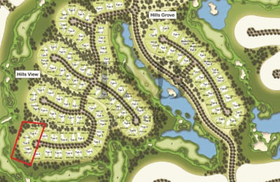 THE LARGEST MANSION PLOT IN DUBAI HILLS! -