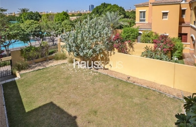 Huge plot | Backs the pool | Great family space -