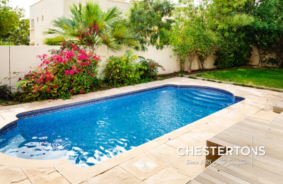 Chilled pool|Upgraded kitchen|Large plot -