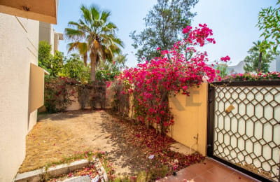 Live on a 4 BR villa right at the beach -