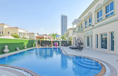 Extended Corner Plot | Private Swimming Pool -