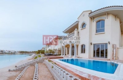 Elegant 4BR Villa with a Sea Facing Pool -
