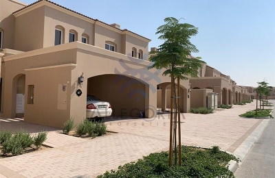Spacious Two Bedrooms Plus Maid Town House -