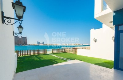 Beachfront Home In Palma Residences 5 BR Villa -
