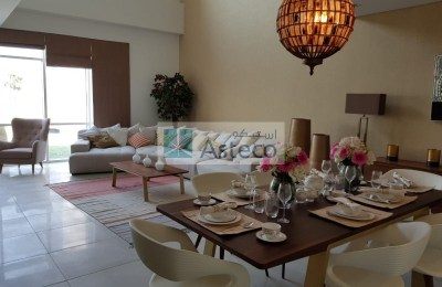 Furnished 3BR Townhouse in Al Raha Beach with facilities -