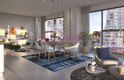 Waterfront Living Spacious 1BR Good Investment -