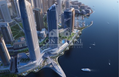Waterfront View with 1 Bedroom Apartment -