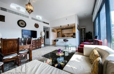 Exclusive | 2B+M Townhouse | Ready to Move In -