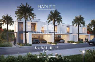 Cozy 4 bed+maid townhouse Maple by emaar -