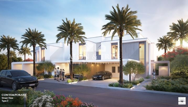 End unit 5BR+maid maple townhouse, Emaar -