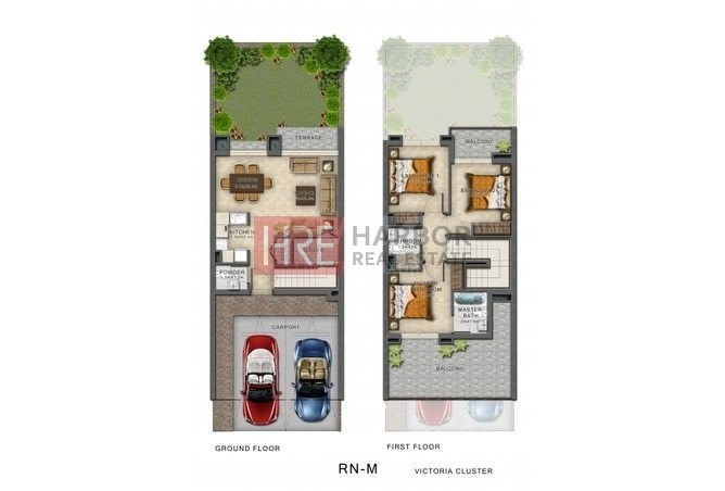 Urgent for Resale 3BR Townhouse Akoya Oxygen -