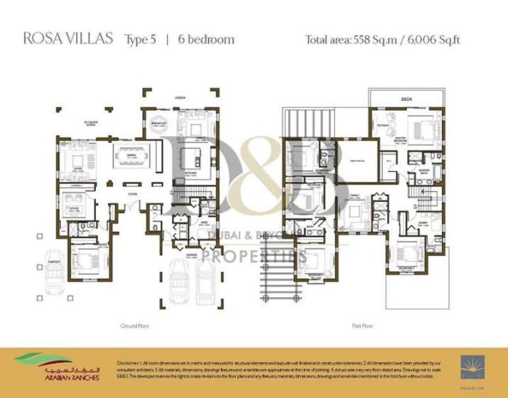 READY 6 BED VILLA WITH 12,000 SQ FT PLOT -