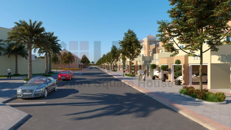 Townhouses in Victory Heights, Dubai Sports City