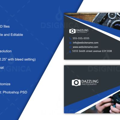 Dsignica Marketplace Of Logo Graphics Design Business Cards - Business card website template