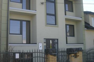 Wymiana okien i drzwi, profil Schuco CT70, kolor: Antracyt