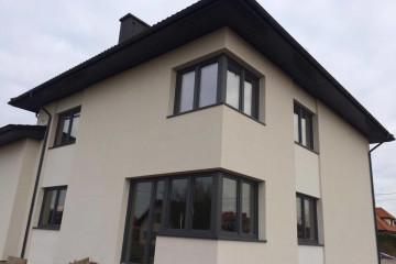 Okna energooszczędne Rehau Energetic, brama Hormann, drzwi Wikęd