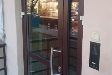 Drzwi wejściowe Aluminiowe Ponzio