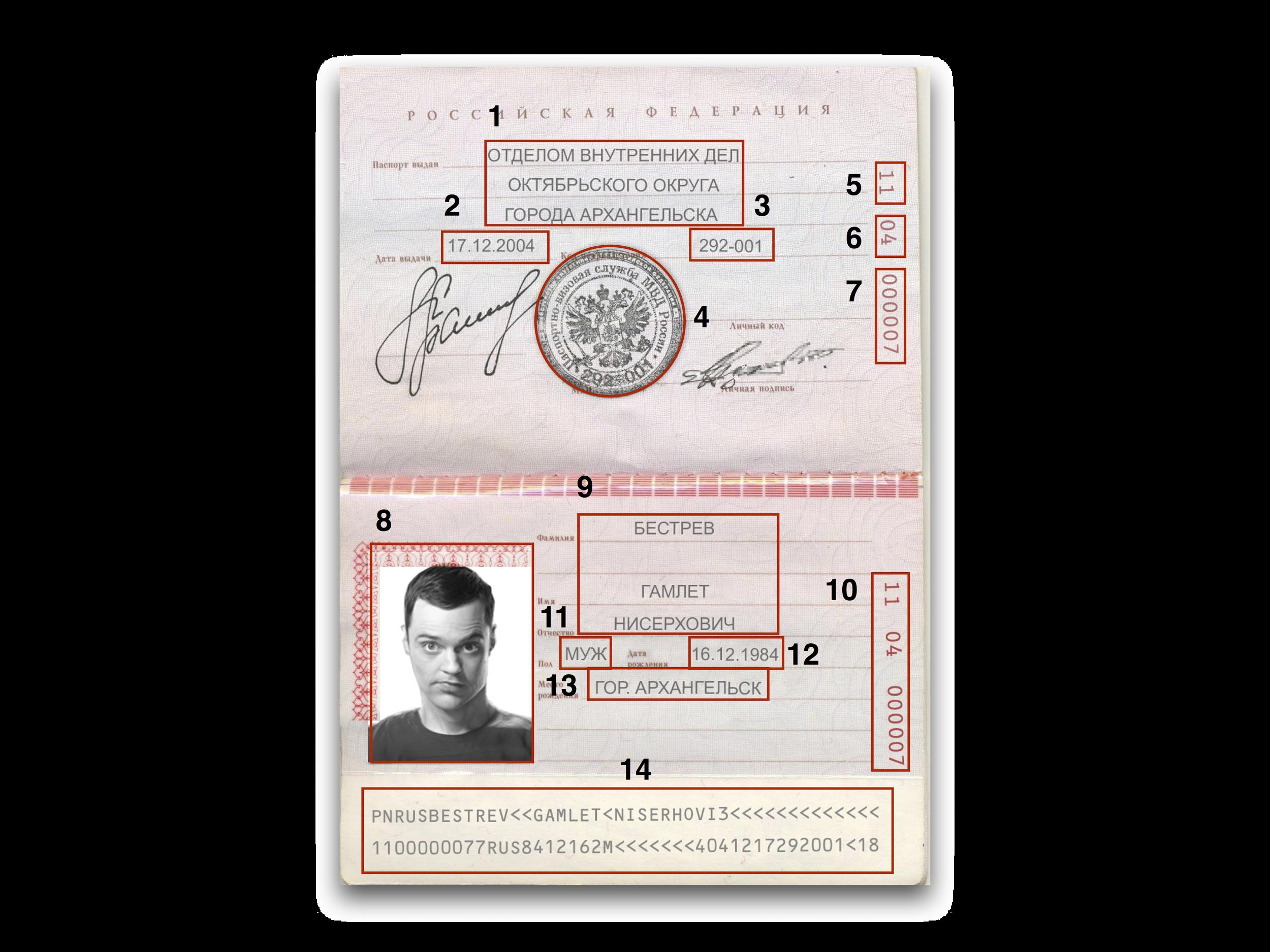 Как узнать дату выдачи паспорта