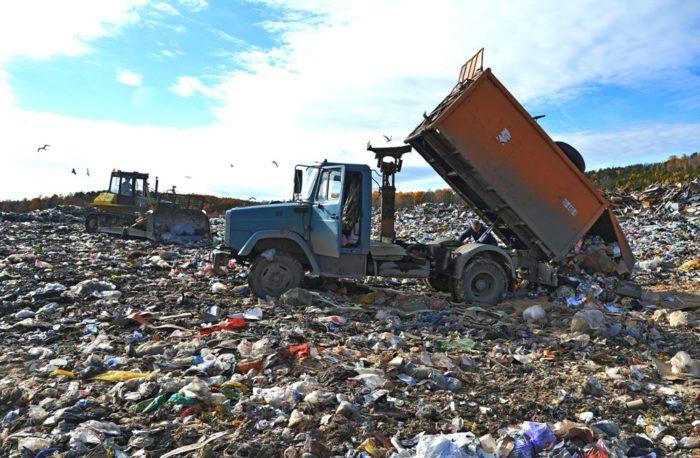 Как расчитать объем твердых коммунальных отходов