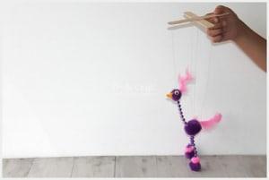 bird marionette