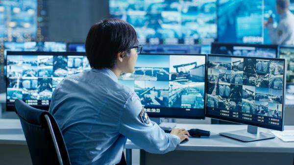 Security Guard Monitoring