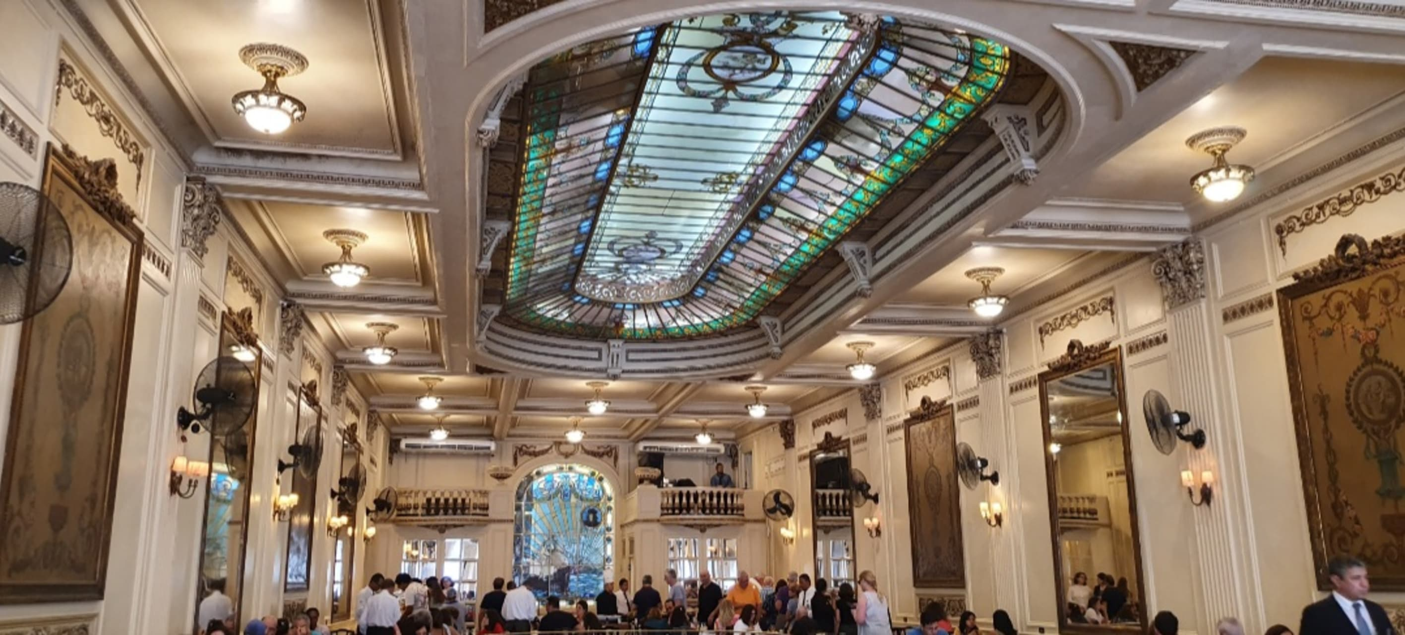 Rio de Janeiro - Confeitaria Colombo: one of the most beautiful cafes in the world